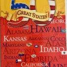 50 Great States Reading Discovery Level 3 Reader Fast Facts Book PB 2013