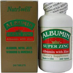 Albumin Super Zinc 240T