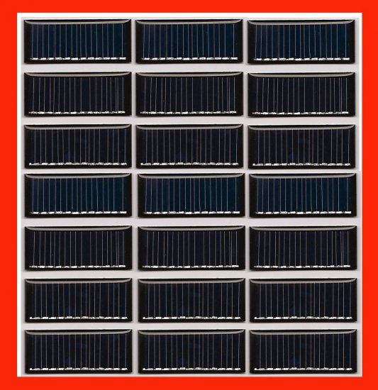 126-VOLTS SOLAR CELLS SOLAR PANEL SOLAR POWER