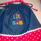 PILLOWCASE DRESS LIL SIS 0 to 4 and bigger