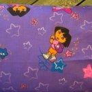 TRAVEL SIZE PILLOW CASES Dora on Purple
