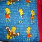Bart Simpson Kids/Travel Pillowcase