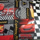 TRAVEL SIZE PILLOW CASES DISNEY PIXAR CARS checkered flag