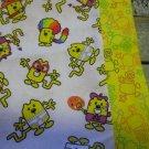 WOW WOW WUBBZY YELLOW kids / travel pillowcase