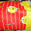 WOW WOW WUBBZY on Red kids / travel pillowcase