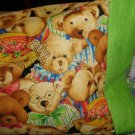 Bears Bears and more Bears Kids Travel Pillowcase