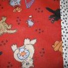 Cat Times Kids/Travel pillowcase