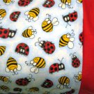 My Lady Bug and Bumble Bees limited qty available MINI Pillowcase kids/travel pillowcase