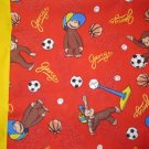 Curious George I only have fabric for 3 of these MINI Pillowcase kids/travel pillowcase