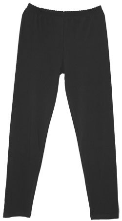 CLASSIC FITTED LEGGINGS - BLACK