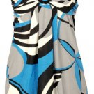 Halter Top Dress - Turquoise