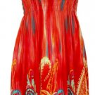 Smocked Top Sundress - Orange