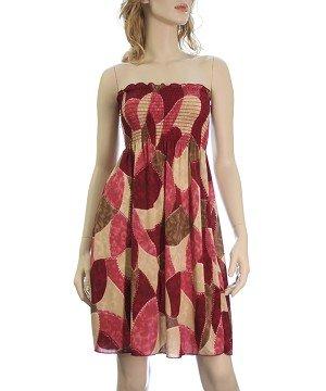 Colorful Tube Dress XL-XXXL