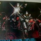 Kiss poster 31 x 21 repro all 4 riding motorcycles choppers Ace Frehley +BONUS!