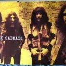 Black Sabbath burnt yellow horiz POSTER 34 x 23.5 Ozzy Osbourne early lineup