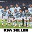 Argentina 2014 World Cup team photo POSTER 34 x 23.5 Lionel Messi runners up