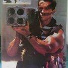 Arnold Schwarzenegger rocket launcher poster Commando
