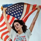 Lana Del Rey holding flag POSTER 14.5 x 21 pop music diva (sent FROM USA in PVC)