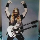 Zakk Wylde enraged guitar poster Black Label Society