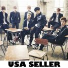 Bangtan Boys BTS in classroom poster 34 x 23.5 Korean Kpop boy band SHIP FRM USA