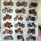 Jawa motorcycles POSTER 23.5 x 34 motocykly 21 bikes Czech brand