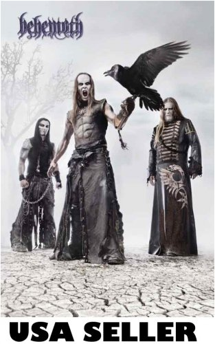 Behemoth poster 23.5 x 34 Polish death metal band great gift SHIP FROM USA
