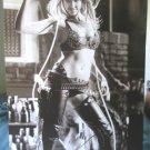 Jessica Alba sexy midriff-bearing leather b&w poster Sin City era ship from USA