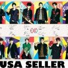 EXO XOXO color horiz collage POSTER 34 x 23.5 Korean boy band &SENT FROM USA