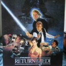 Star Wars Return of the Jedi repro movie poster 1983
