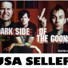Blink 182 Dark Side of the Goons POSTER Travis Barker flipping off world