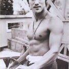 Bruce Lee black & white shirtless POSTER 21 x 31 martial arts karate movie star