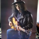 Slash top hat and guitar POSTER 23.5 x 34 Guns n' Roses SHIP FROM USA