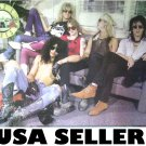 Guns n' Roses sitting on couch POSTER 34 x 23.5 Axl Rose Slash &SHIP FROM USA