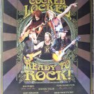 Aerosmith Cocked Locked Ready to Rock poster 23.5 x 34 Steven Tyler Joe Perry
