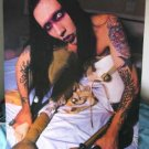 Marilyn Manson peglegs & purple POSTER 21 x 31 SHIP FROM USA