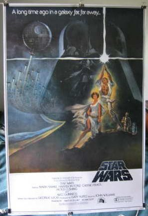 Star Wars first trilogy replica 3 poster set all 23.5 x 34 GREAT GIFT