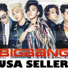 Bigbang velocity effect POSTER 34x 23.5 Korean Boy band T.O.P. Big Bang G-Dragon