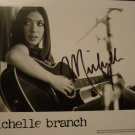 Michelle Branch 8x10 Signed