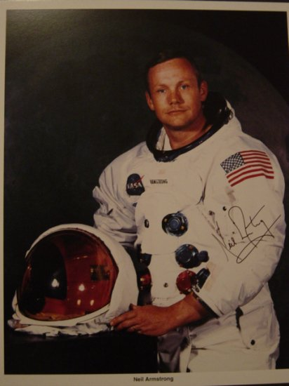 Neil Armstrong 8x10 Signed