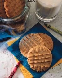 Homemade Old Fashioned Peanut Butter Cookies - 2 Dozen
