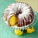 Homemade Lemon Pound Bundt Cake