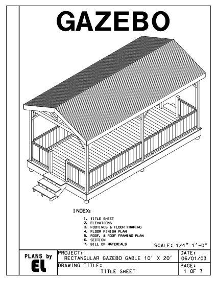 how to build a 4 sided roof