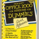 Microsoft Office 2000 for Windows for Dummies book