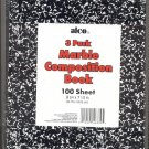 alco brand Marble compostion book - 3 pack