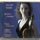 Hilary Hahn - Brahms, Stravinsky: Violin Concertos