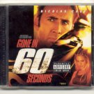 Gone in 60 Seconds [Original Soundtrack] [PA]