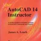 Autocad Instructor book CAD computer aided drafting