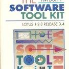 Tim Duffy Software Tool Kit: Lotus 1-2-3 3.4 paperback book