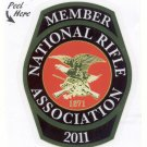 NRA 2011 decal sticker - new