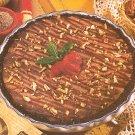 Chocolate Turtle Cheesecake recipe card